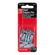 "Bulldog 1/4"" Shelf Support Pin (12-pack)"