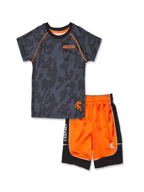 Toddler Boy T-shirt & Jersey Shorts, 2pc Active Outfit Set