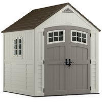 Suncast 322 cu. ft. Cascade® 7x7 Storage Shed, Vanilla, BMS7790D