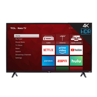 "TCL 65"" Class 4K Ultra HD (2160P) HDR Roku Smart LED TV (65S421)"