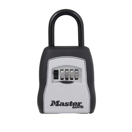 Master Lock 5400D Set Your Own Combination Portable Lock Box, 5 Key Capacity, Black