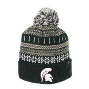 4a20fcf602c Michigan State Spartans Zephyr Carousel Pom Knit Beanie