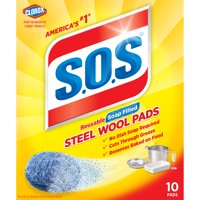 S.O.S Steel Wool Soap Pads, 10 ct