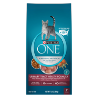 Purina ONE Urinary Tract Health Adult Dry Cat Food, 7 lb
