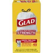 Glad Tall Kitchen DrawstringTrash Bags - 13 Gallon - 45 ct