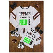 3904c9e6e Family Matching Outfits Thanksgiving Day Long Sleeve T-Shirt Letters Print  Tops Clothes