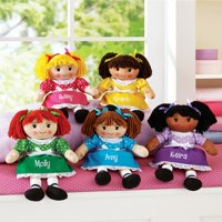 Personalized Cuddle Time Rag Doll