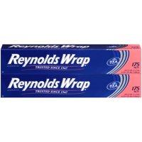 Reynolds Wrap Aluminum Foil, 2 Boxes of 175 Square Feet (350 Total)