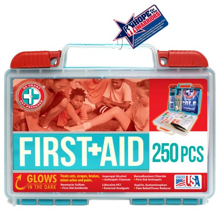 Be Smart Get Prepared First Aid Kit, 250