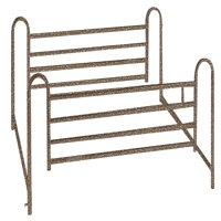 Drive Medical Full Length Hospital Bed Side Rails, 1 Pair