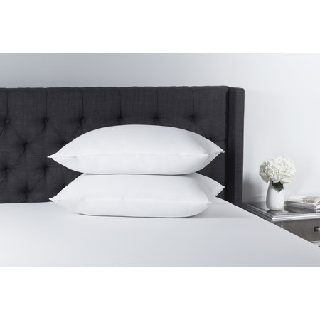 Mainstays 100% Microfiber Polyester Pillow Set of 2 in Multiple Sizes ()