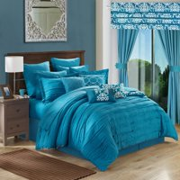 Chic Home Olivier 24-Piece Reversible Bed-in-a-Bag Comforter Set