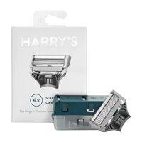 Harry's German-Engineered Men's Razor Blade Refills, 4Ct