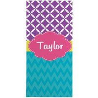 Personalized Multi-Print Beach Towel
