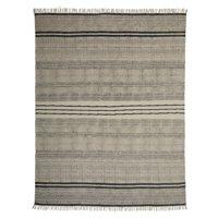 MoDRN Industrial Patterned Lines Flat Weave Area Rug