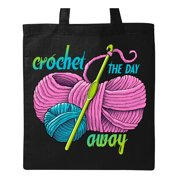 71730c8db Crochet the Day Away Tote Bag