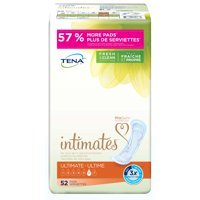 Tena Incontinence Pads For Women, Ultimate (Choose Your Count)