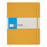 "Exceed Dotted Classic Notebook, Large, 7.5"" x 9.75"" (Color May Vary)"