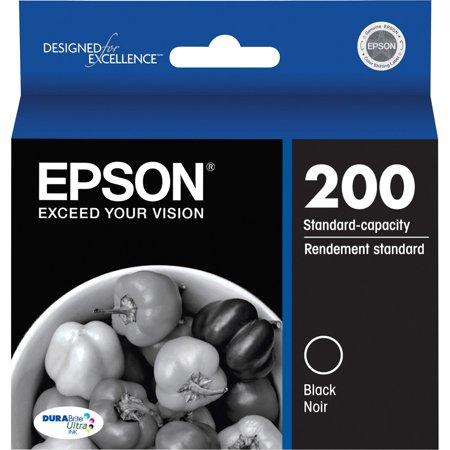 Epson 200 DURABrite Original Black Ink (Long Lasting Black Ink)