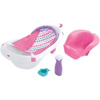 Fisher-Price 4-in-1 Sling 'n Seat Convertible Tub, Pink