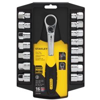 STANLEY STMT74900 16-Piece Pass-Thru Socket Set