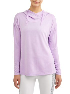 Women's Active Lux French Terry Tunic Hoodie