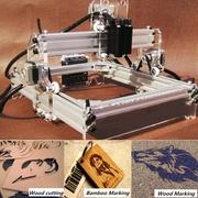 Mini 2000MW DIY Laser Engraving Laser Engraver Laser Cutter Printer Logo Mark 17x20cm Self-assembly