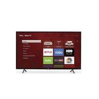"Refurbished TCL 65"" 4K UHD HDR ROKU Smart LED TV, RTU5540-C"
