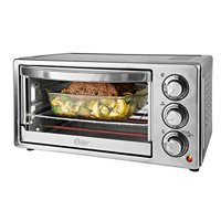 Oster 6-Slice Countertop Convection Toaster Oven, Stainless Steel New!