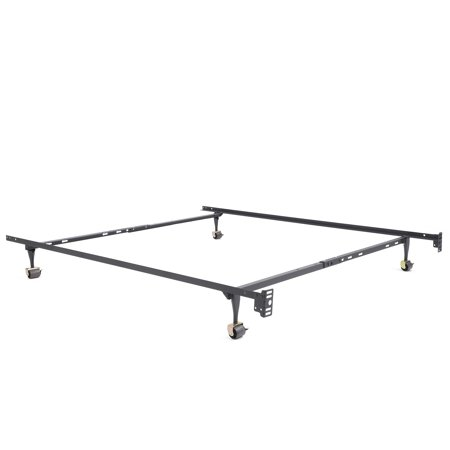 Modern Sleep Standard Adjustable Metal Bed Frame, Multiple Sizes