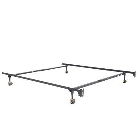 Modern Sleep Standard Adjustable Metal Bed Frame Multiple Sizes