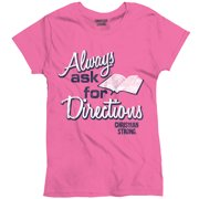 93589af6b3c Ask Directions Christian T Shirt for Women
