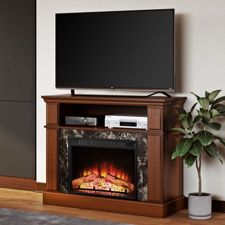 Mainstays Loring Media Fireplace For Tvs Up To 50 Multiple Finishes