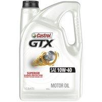 Castrol GTX 10W-40 Conventional Motor Oil, 5 QT