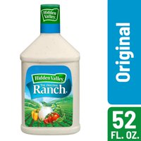 Hidden Valley Original Ranch Salad Dressing & Topping, Gluten Free - 52 oz Bottle