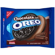 (2 Pack) Oreo Cookies, Chocolate Crème, 15.25 Oz
