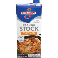 (4 Pack) Swanson Chicken Cooking Stock, 32 oz.