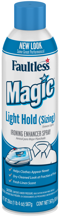 Magic Sizing Ironing Spray Light Body, 20 Ounces
