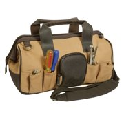 15f51c7ddd31 Canyon Outback Canvas and Leather Open Mouth Tool Bag