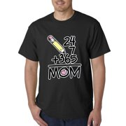 Mothers Day - 24+7+365= Mom Men's T-Shirt