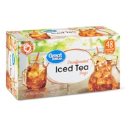 Great Value Decaffeinated Iced Tea Bags, 10.5 oz, 48 Count