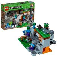 LEGO Minecraft The Zombie Cave 21141 Building Set (241 Pieces)