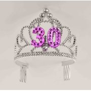 dd34c06514ea 30th Birthday Princess Tiara Crown Party Princess Plastic Tiara