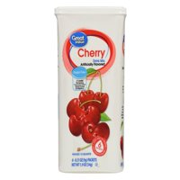 (12 Pack) Great Value Drink Mix, Cherry, Sugar-Free, 1.9 oz, 6 Count