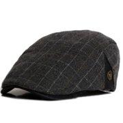 9dc7ecadea6de Mens Tartan Plaids   Check Newsboy Cabbies Golf Flat Cap Ivy Beret Driver  Hat