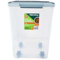 Vibrant Life Pet Food Storage, Large, 25 lb