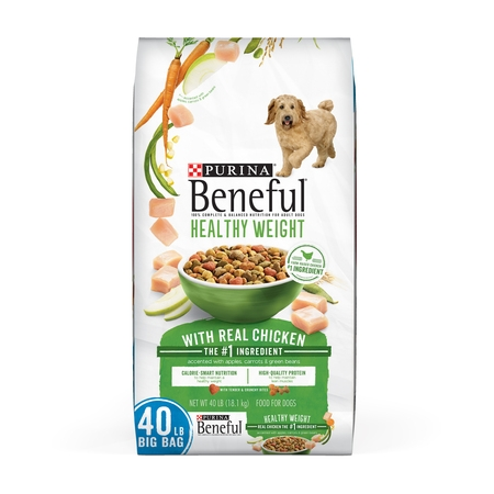 Purina Beneful Healthy Weight Dry Dog Food; Healthy Weight With Real Chicken - 40 lb.
