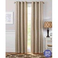 Better Homes & Gardens Basketweave Curtain Panel