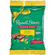 Russell Stover Sugar-Free Toffee Squares Covered in Chocolate Candy, 3 Oz.