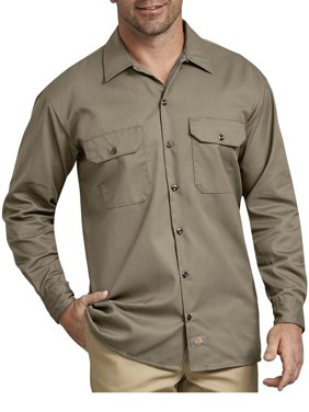 Men's Original Fit Long Sleeve Twill Work Shirt
